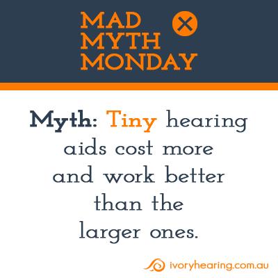 Tiny hearing aids