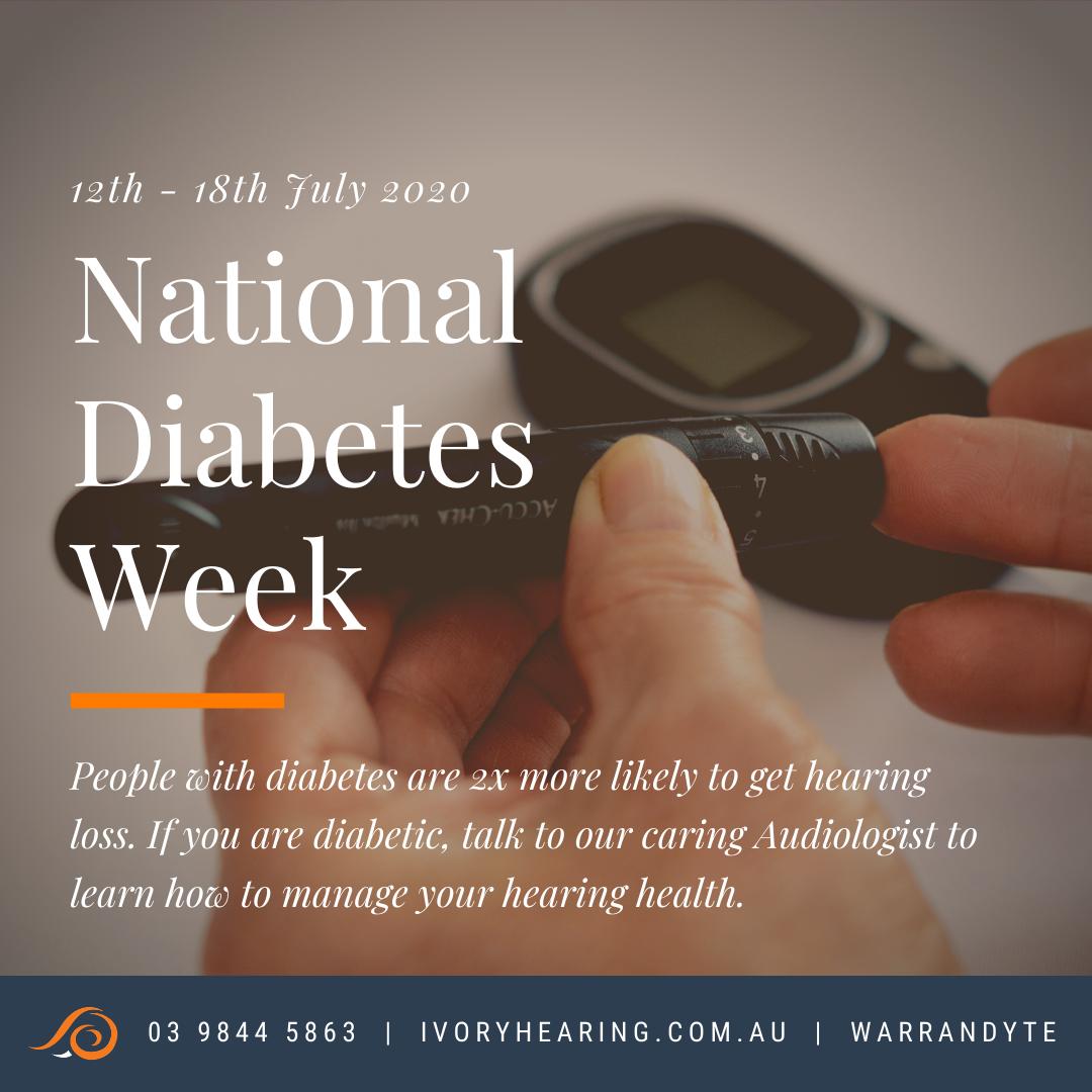 national diabetes week 2020