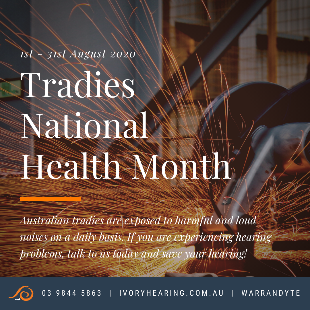 tradies national health month 2020