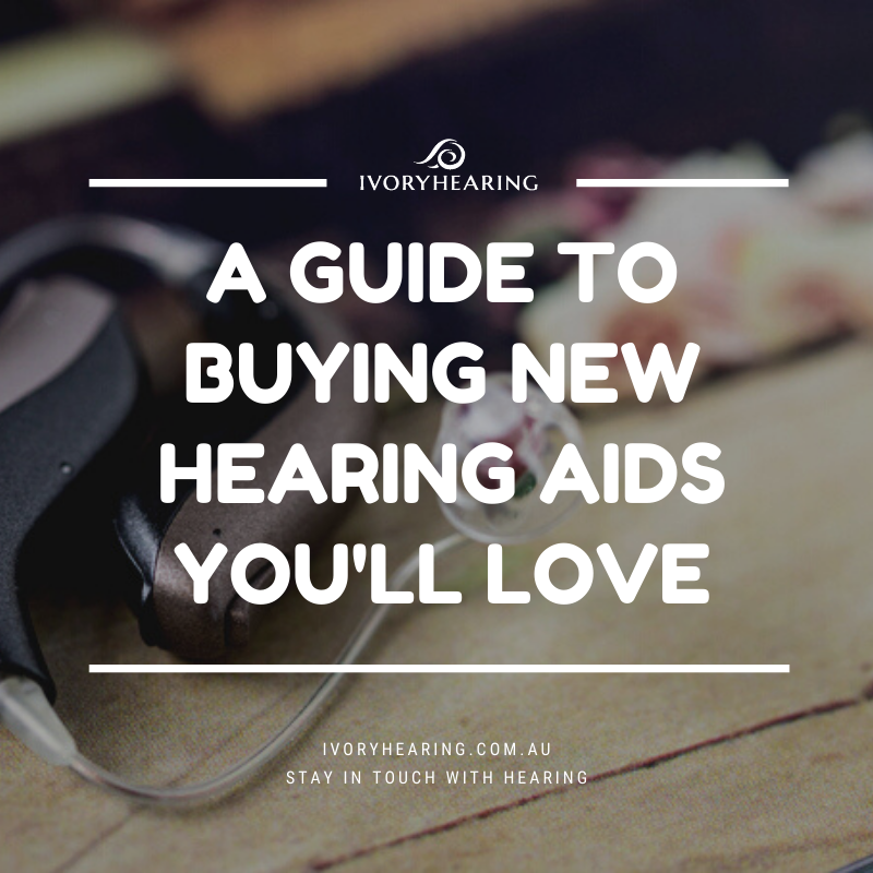 feature image for guide to buying new hearing aids