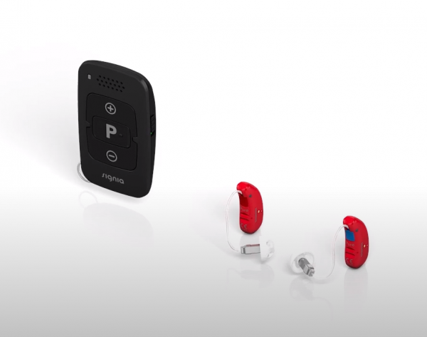 Signia minipocket with hearing aids